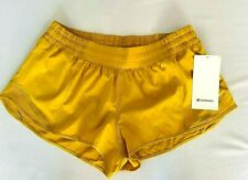 "Lululemon Hotty Hot LR Short 2.5"" Size 12 Lined Honey Comb HNYB NEW WITH TAGS!"