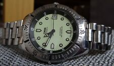 ORIS LUMINOUS DIAL 200M DIVERS SWISS MADE MEN'S WATCH AUTOMATIC 25J RARE B7401