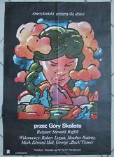 Across the Great Divide - Steward Raffill - Swierzy - Polish Poster