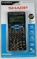 Sharp EL-W535TGBBL 16-Digit Scientific Calculator with WriteView, 4 Line Disp...