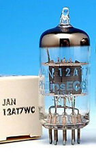 NOS US MADE12AT7/12AT7WC VACUUM TUBES ECC81 6201 FOR HI-FI & GUITAR AMP