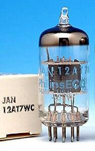 NOS US MADE12AT7/12AT7WC VACUUM TUBES ECC81 6201 FOR HI-FI & GUITAR AMP