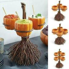 Halloween Party Kürbis Kürbis Laterne Dose Eimer Geschirr Rack Snack Caddy