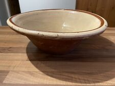 More details for victorian terracotta pancheon bowl- dough mixing dairy