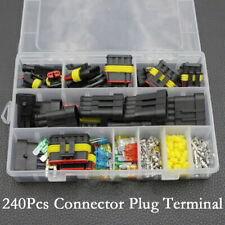Waterproof Car Electrical Wire Plug Connector Terminal 1-6 Pin Way Blade Fuses