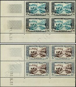 Definitive: Folklore -CORNER EDGE BLOCK OF 4 WITH PRINT DATE- (MNH)