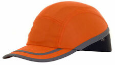 10 x B-BRAND SAFETY BASEBALL CAP BUMP HARD HAT ORANGE FOR HEAD SAFETY