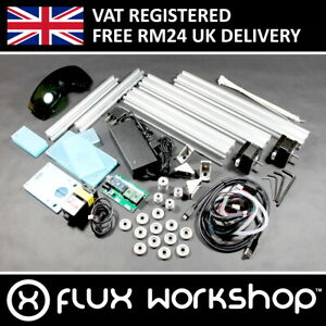 170x200mm 500mW Desktop CNC Laser Engraver DIY Kit GRBL Wood Acry Flux Workshop