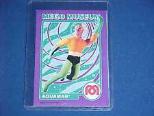 DC COMICS AQUAMAN JUSTICE LEAGUE KING 7 SEAS MEGO MUSEUM PROMO CARD