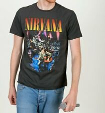 Official Charcoal Nirvana MTV Unplugged In New York T-Shirt from Amplified