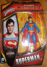 "DC MULTIVERSE SUPERMAN 3.75"" FIGURE CHRISTOPHER REEVE 1978"