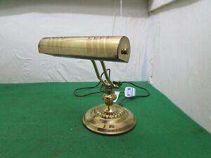 Vintage Micromark Brass Bankers Desk Lamp