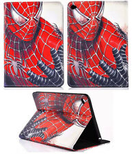 For Apple iPad 2 3 4 Avengers Spiderman Marvel Comics DC Smart Stand Case Cover