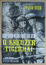 U- Kreuzer Tigerhai - William Holden / Nancy Olsen - A1 Plakat / Götze