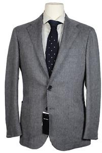 NWT - Ring Jacket – Black & Gray Herringbone Wool Blazer, Sizes 36-46, $1495
