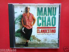 cd,cds,compact disc,reggae,manu chao,clandestino,bongo bong,mentira,desaparecido