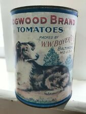 Dogwood Brand Tomatoes W.W. Boyer & Co.Baltimore M.D. Australian shepherd