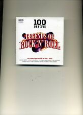 100 HITS - LEGENDS OF ROCK 'N' ROLL - CHUCK BERRY BILL HALEY DION - 5 CDS - NEW!