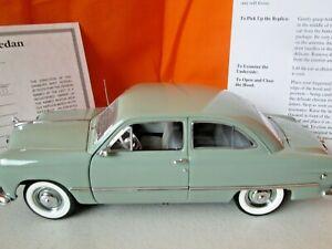 Danbury Mint 1949 Ford Tudor Sedan 1:24 Diecast No Box