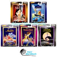 Hot Wheels Premium 2020 Pop Culture Disney Classics F Case Set of 5 Cars