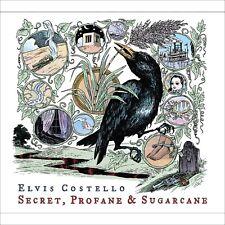 ADESIVO STICKER Elvis Costello Secret, Profane & Sugarcane