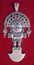 INCA MODEL PENDANT SHAPE OF TUMI MADE OF SILVER 950