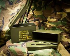 2 Pack $11 Ea 30 Cal Ammo Can  M19A1 Grade 1A Good Condition