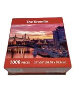New The Kremlin Puzzle Passion Mate 1000 Piece Landscape Series Water City Boat