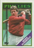 MIke Schmidt 1988 Topps Baseball Card #600 Philadelphia Phillies