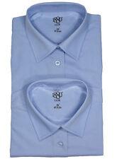 Girls' No Pattern Long Sleeve Sleeve Shirts & Blouses (2-16 Years)