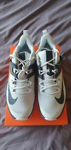 Nike Vapor Lite All Court Tennis Shoes UK SIZE 11.5 WHITE/DARK BLUE
