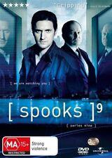 Spooks : Series 9 (DVD, 2011, 3-Disc Set)