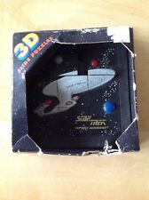 In Box, But Box Is Damaged... 3 D Slide Puzzle, Star Trek The Next Generation