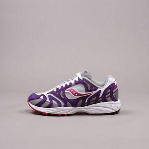 Saucony Originals Grid Azura 2000 White Purple Grey 9 S70491-2 Fashion Sneakers