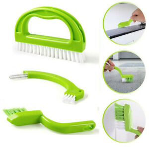 3 in 1 Tile Grout Cleaning Brush Joint Mould Remover Narrow Stiff Stain Cleaner