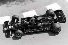Ronnie Peterson JPS Lotus 78 Monaco Grand Prix 1978 Photograph 8