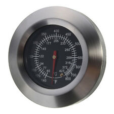 2 x BBQ Stainless Steel oven Thermometer ED