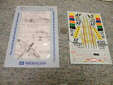 Superscale  decals 1/48 48-168 ADG 137567 UA-65 FSE 149170 UF-33 - partial   G68