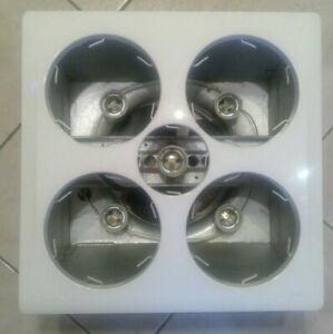 Original  IXL Tastic 12303F Bathroom 3 in 1;Heat (4 x 275W), Light & Exhaust Fan