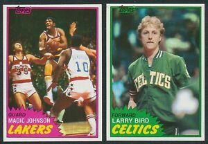 1981-82 TOPPS BASKETBALL COMPLETE (198) CARD SET NM/NM-MT VENDING CENTERED SHARP