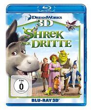 3D Blu-ray * SHREK 3 - SHREK DER DRITTE (+ BLU-RAY 2D) # NEU OVP +
