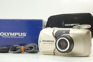 【MINT in Box】Olympus mju II Zoom 38-80mm Point & Shoot Camera ✈FedEx✈ From JAPAN