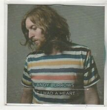 (FJ717) Andy Burrows, If I Had A Heart - 2013 DJ CD