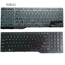 New US English Laptop Keyboard for Fujitsu Lifebook E753 E754 E756