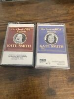 Lot Of 2 KATE SMITH Cassettes: Her Famous RCA Records (New, Sealed), Classic CBS