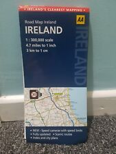 Road Map Ireland (Aa Road Map), AA Publishing, Good Condition Book, 07