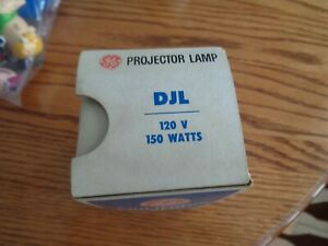 DJL Projector Projection Lamp Bulb 150W  120V GE