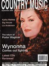 Country Music People September 2000 Wynonna, Kathy Mattea