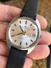 Vintage Jaquet Droz Reloj para hombres de bobinado a mano Estuche de Acero 35mm suizo