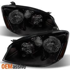 Fits 2005-2006 Altima HID Type Black Smoke Replacement Headlights Left + Right